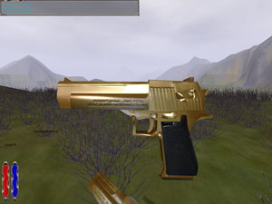 Complete Desert Eagle in gold